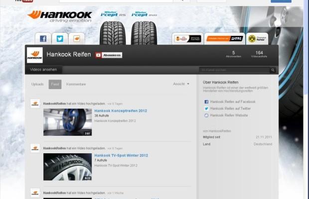 Hankook nun auch auf Twitter und YouTube
