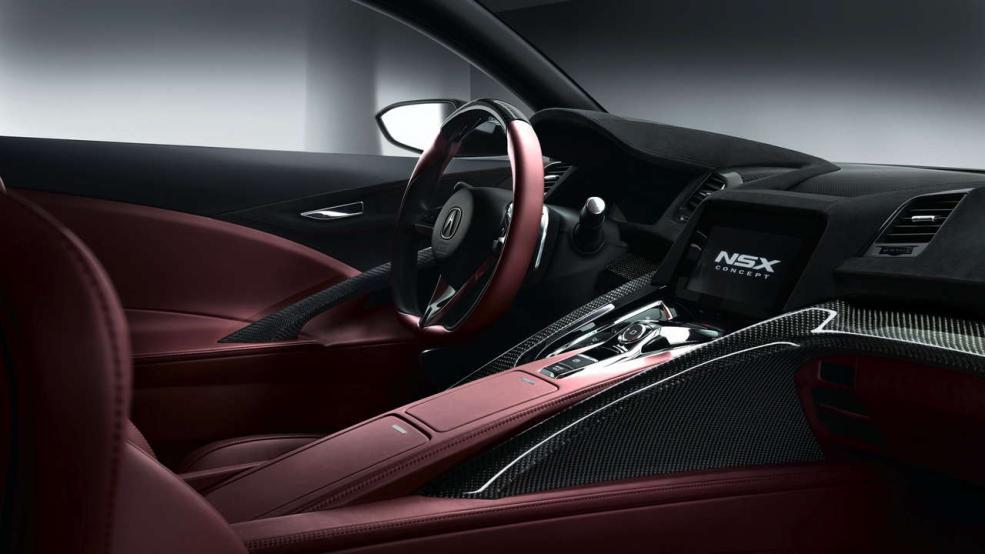 Honda NSX - Jetzt auch von innen zu bestaunen - Bild: Honda