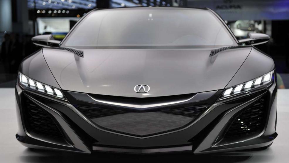 Honda NSX -Schnittig ohne Ende - Bild: Honda