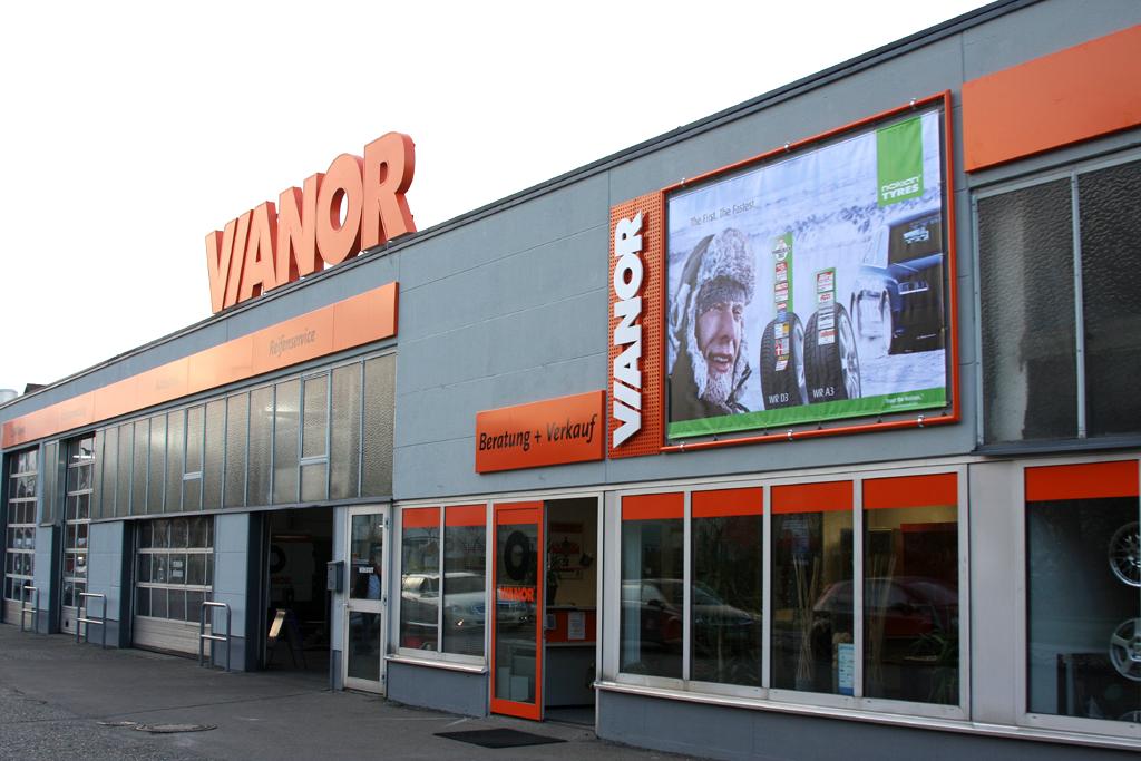 In Friedrichshafen hat zuletzt die 1000. Filiale von Nokians Vianor-Kette eröffnet.