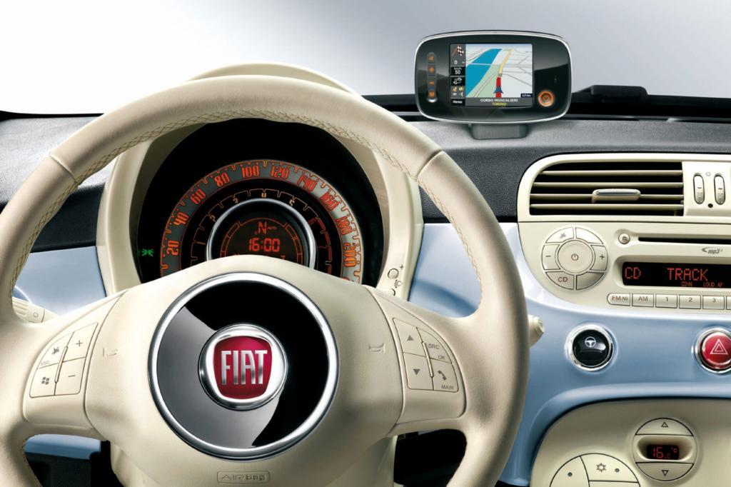 Innen legt der Fiat Wert auf Details