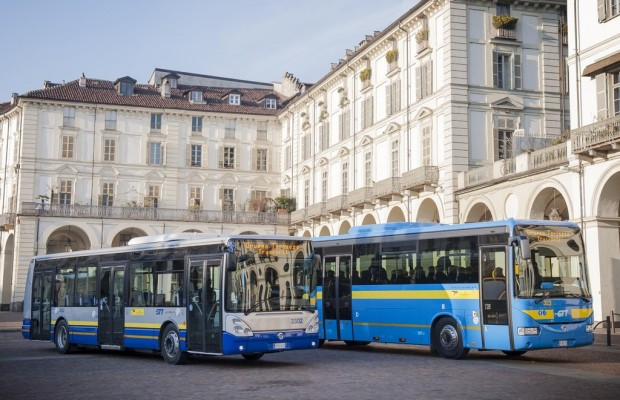 Iveco Irisbus liefert 182 Busse an die Stadt Turin
