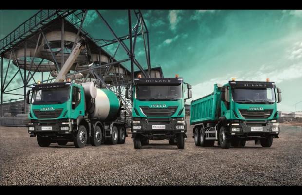 Iveco mit neuen Baustellenfahrzeugen