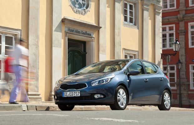 Kia startet 2013 mit Cee'd-Sondermodell zu 12 990 Euro