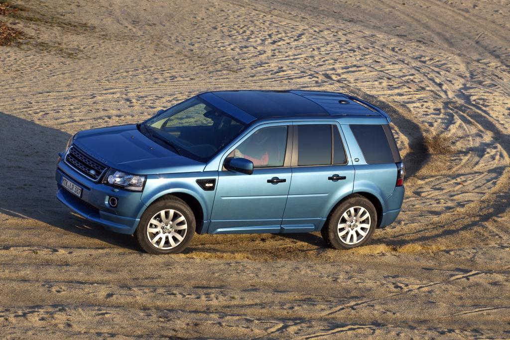 Land Rover-Fahrzeuge stellt man sich gemeinhin als besonders robust und zugleich als edel vor