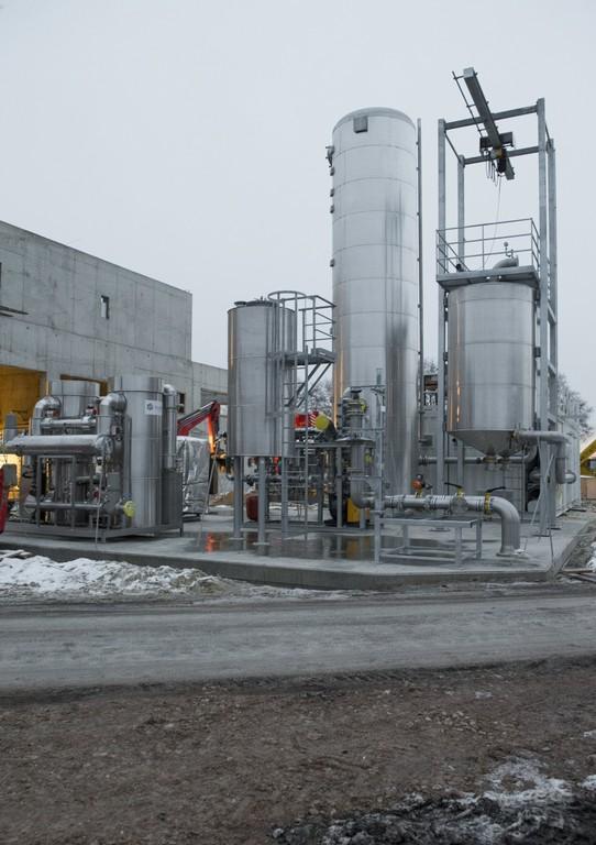 MAN-Reaktor produziert Audi E-Gas