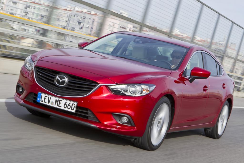 Mazda6 Limousine/Kombi - Sechs bringt es
