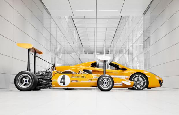 McLaren feiert in diesem Jahr sein fünfzigstes