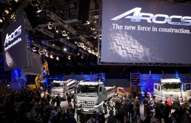 Mercedes-Benz präsentiert den neuen Arocs