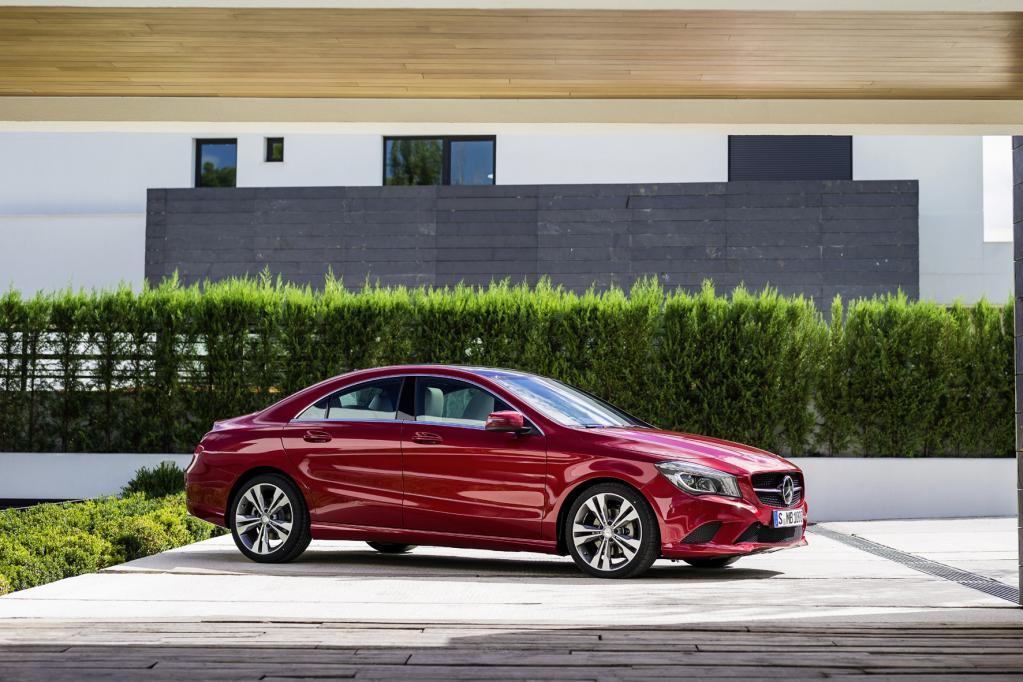 Mercedes CLA - das viertürige Coupé der A-Klasse