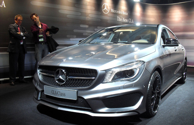 Mercedes kündigt Marktstart des viertürigen CLA-Coupés für April an