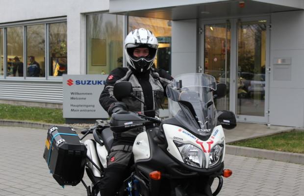 Mit der Suzuki V-Strom von Malaysia nach Deutschland