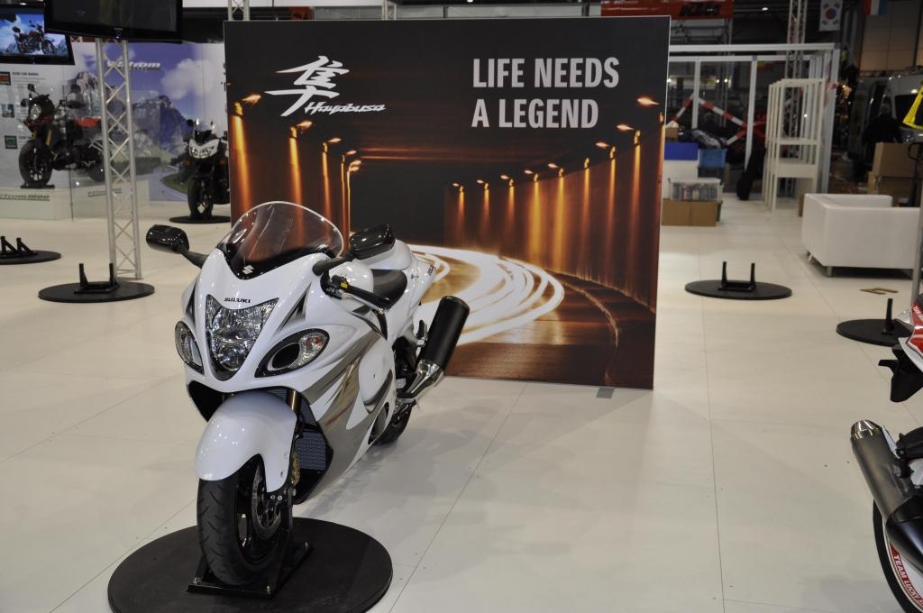 Motorrad Messe Leipzig 2013: Honda, Husqvarna, Hyosung, Kawasaki, Suzuki, Triumph, Yamaha