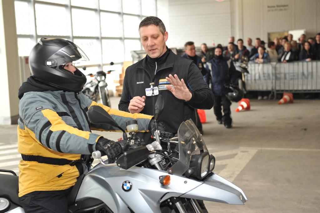 Motorradmesse IMOT im Februar 2013