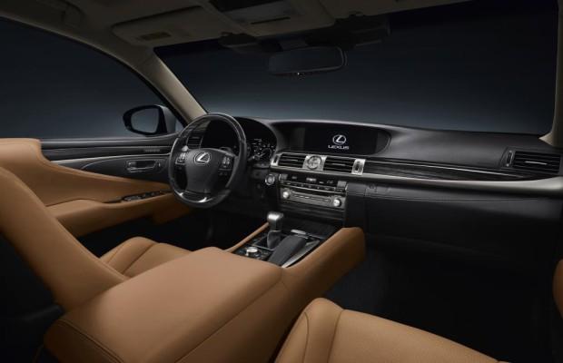 Neue Innenraumbeleuchtung bei Lexus