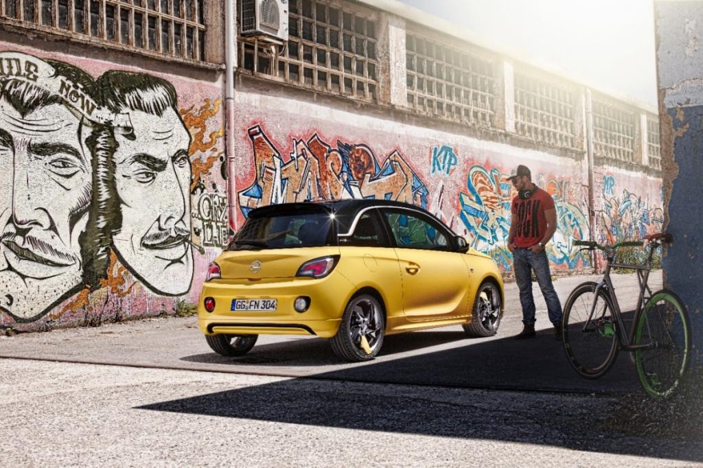Opel Adam Slam: Nach einer Woche 20.000 Bestellungen – Erfolgreicher Start und Auszeichnungen für neuen Blitz