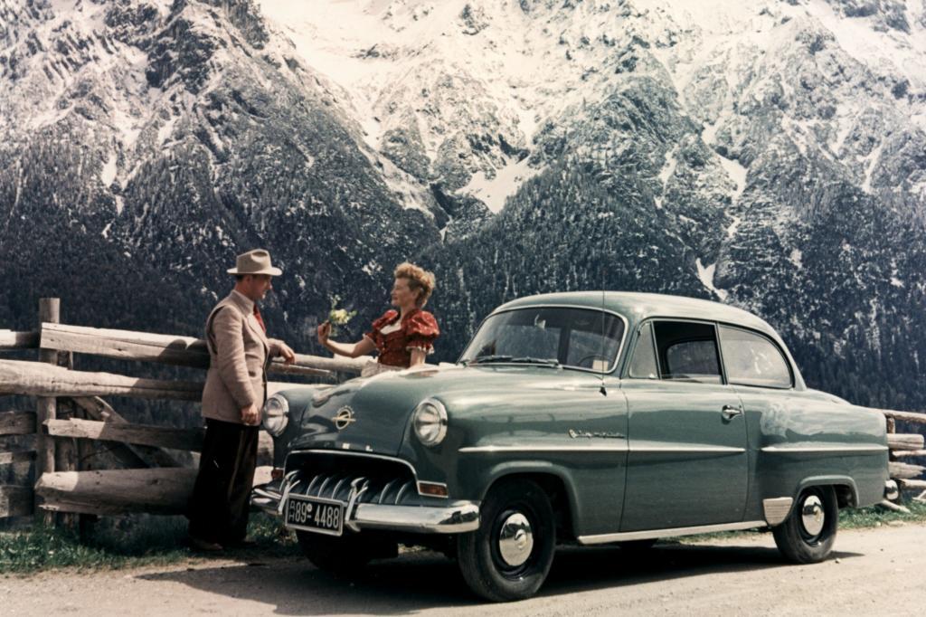 Opel Olympia Rekord Ab1953