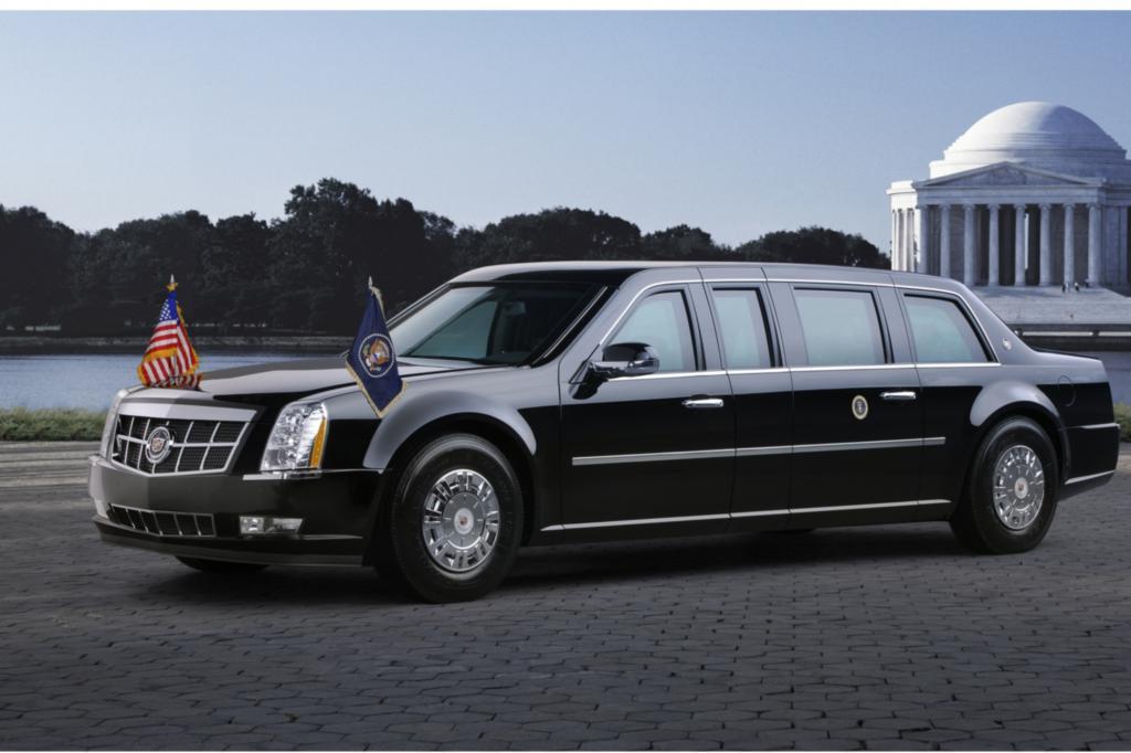 Panorama: Cadillac Fleedwood Presidential Limousine von 1950 - Veteran aus dem Weißen Haus