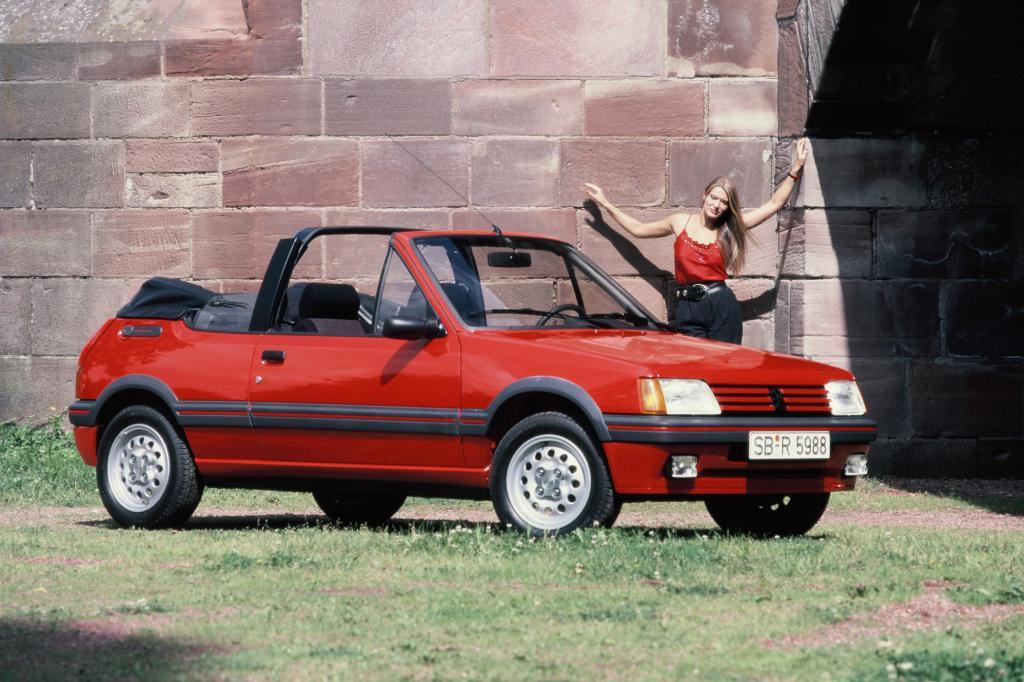 Peugeot 205 CTI Cabrio ab 1986