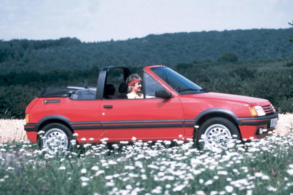 Peugeot 205 CTI Cabriolet ab 1986