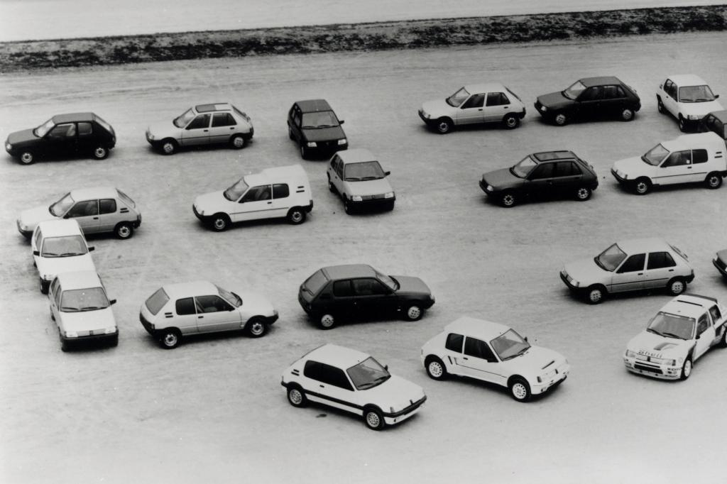 Peugeot 205 Modellprogramm