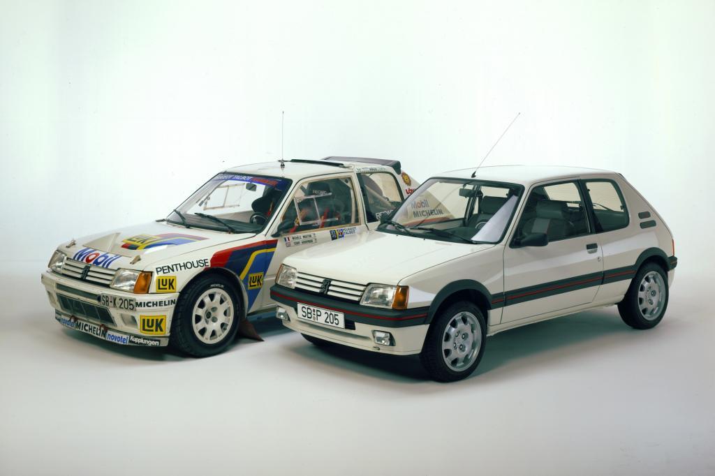 Peugeot 205 Turbo 16 und 205 GTI ab 1984