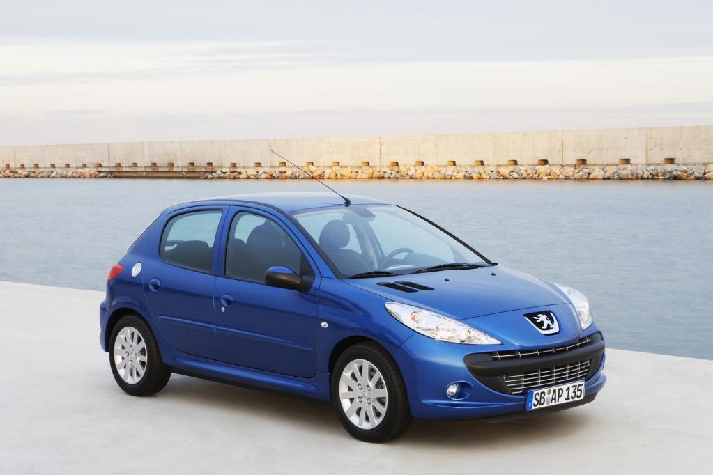 Peugeot bilanziert für den 206 Rekorde