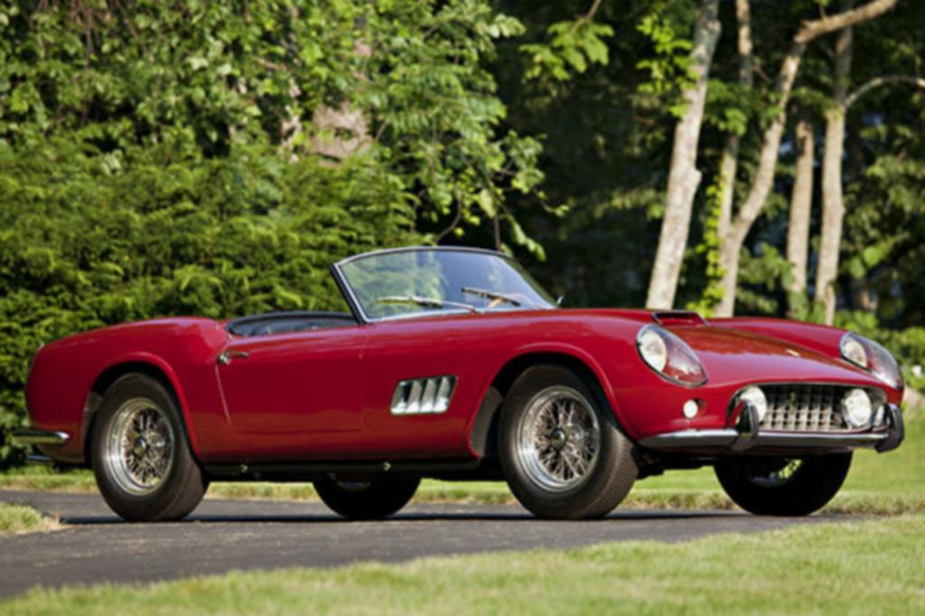 Platz 2: Ferrari 250GT California Spider LWB, 1960