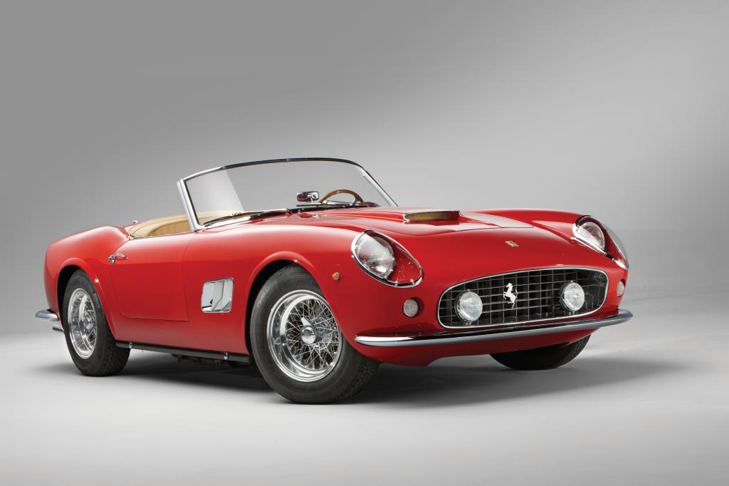 Platz 4: Ferrari 250GT California Spider SWB, 1962