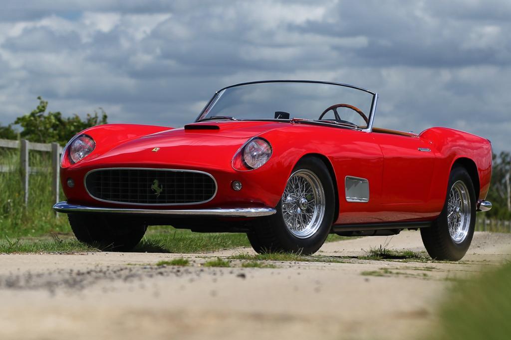 Platz 9: Ferrari 250GT California Spider LWB, 1957