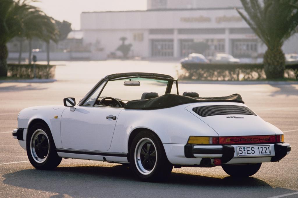Porsche 911 Cabriolet ab 1982