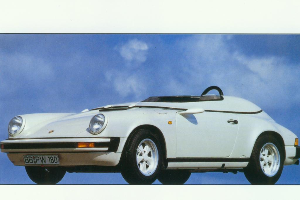 Porsche 911 Speedster Club Sport 1987