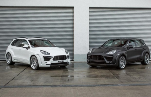 Porsche Cayenne Fab Design Tuning - Mit dickeren Backen und mehr Leistung