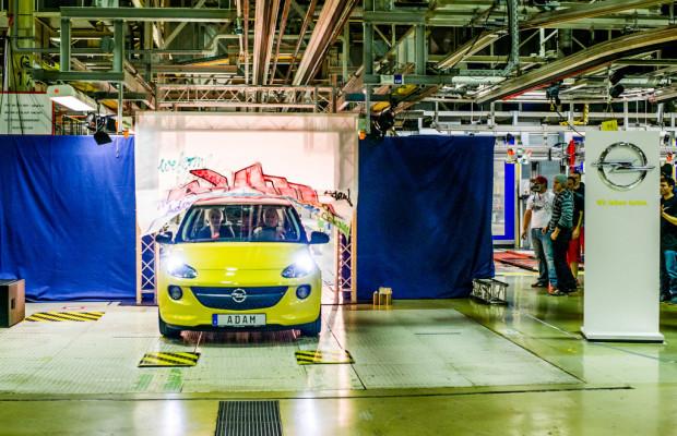 Produktion des Opel Adam in Eisenach angelaufen