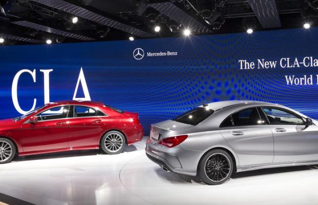 Produktionsstart für Mercedes-Benz CLA