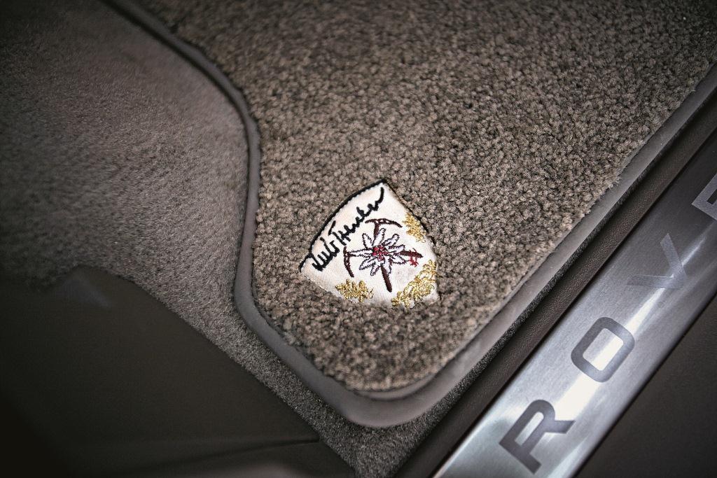 Range Rover Sport als Luis Trenker Fashion Edition
