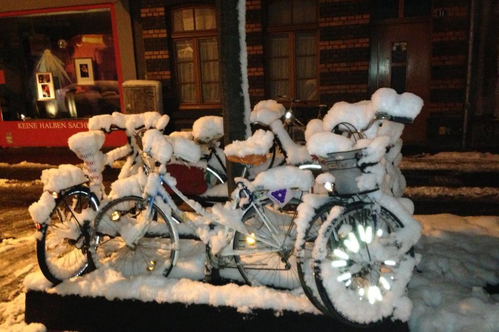 Ratgeber: Radfahren im Winter - Aufs Glatteis geführt