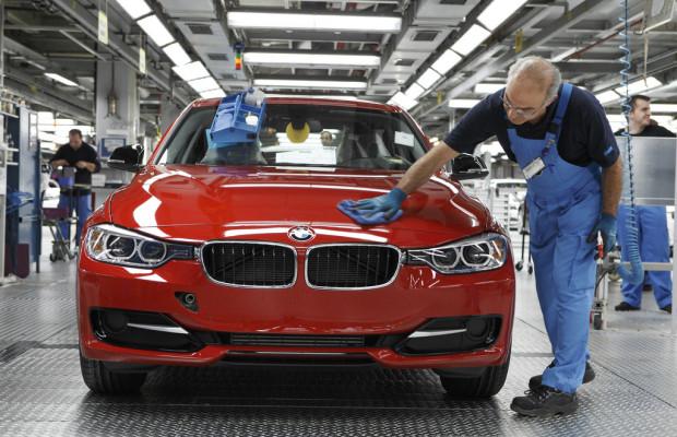 Rekordjahr 2012 für die BMW Group