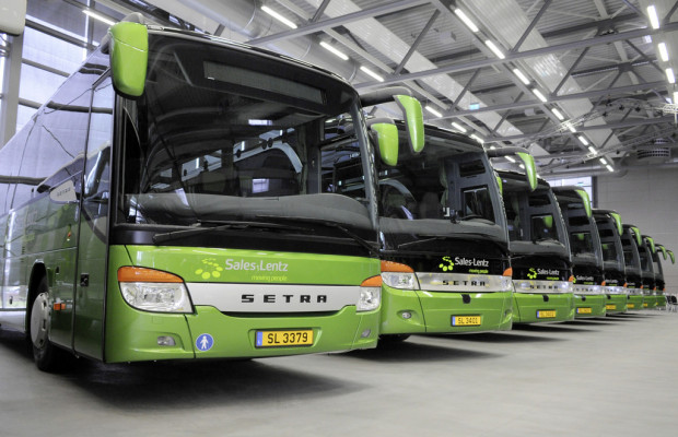 Sales-Lentz übernimmt 16 Setra-Reisebusse