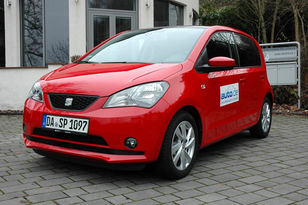 Seat Mii, hier als stärkerer Benziner mit 55/75 kW/PS.