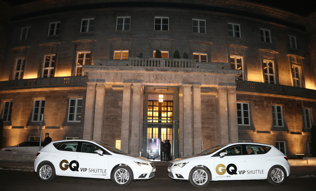 Seat stellt Shuttle bei der Fashion Week