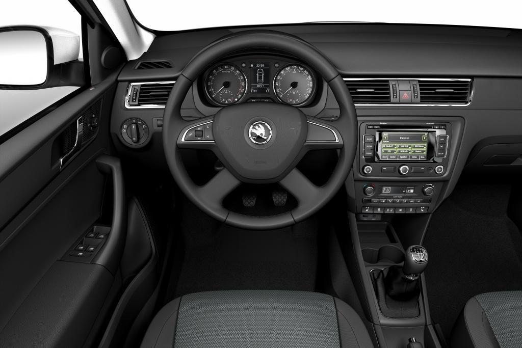 Skoda Rapid: Das Auto pur