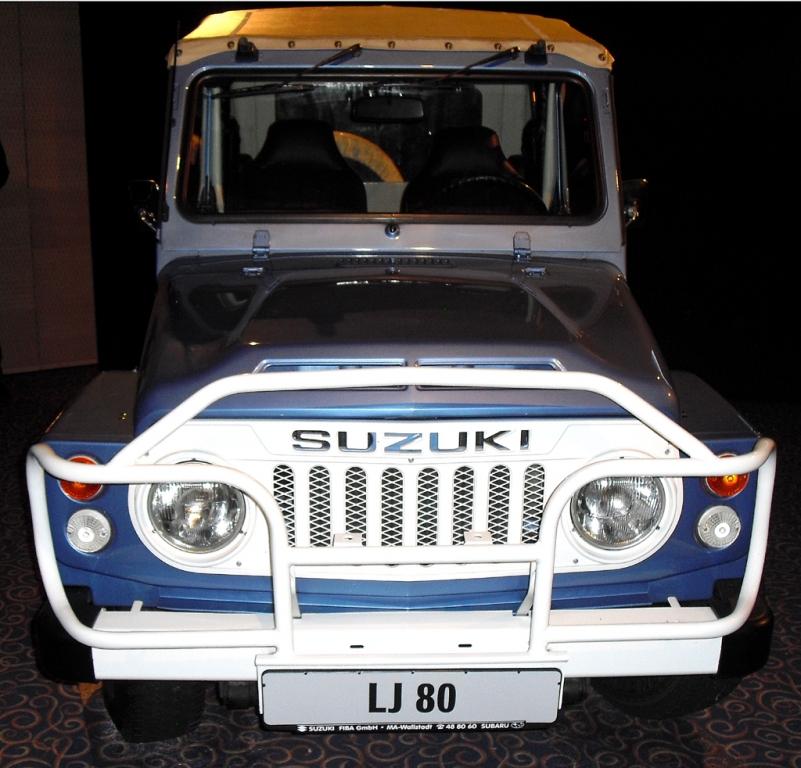 So fing mit Suzuki in Deutschland alles an: Jimny-Vorfahre
