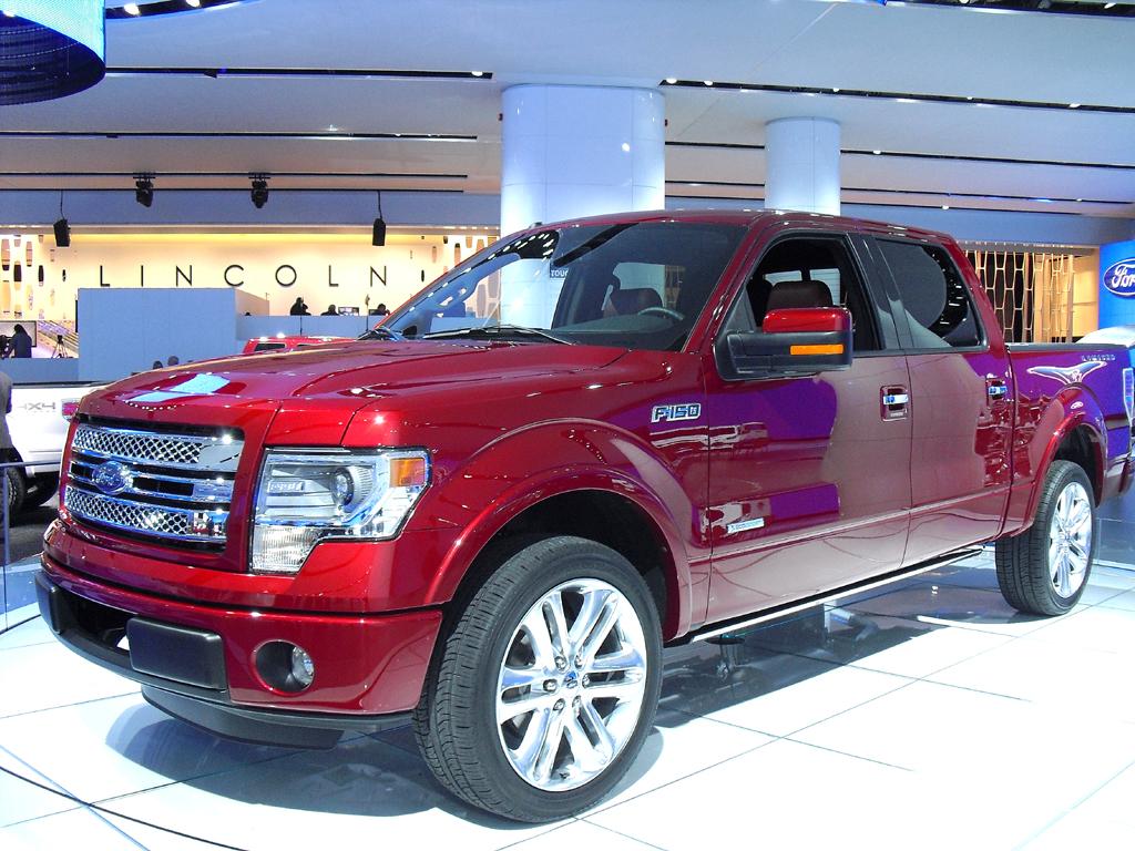 So sieht der aktuelle F-150 aus. Atlas Concept heißt Fords neue Pickup-Studie.