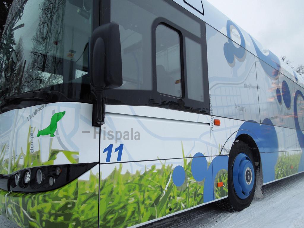 Solaris liefert zwei Urbino 12,9 Hybrid nach Finnland