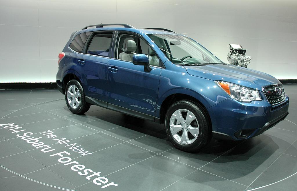 Subarus Forester-Neuauflage fährt vom Design her nach wie vor etwas bieder vor