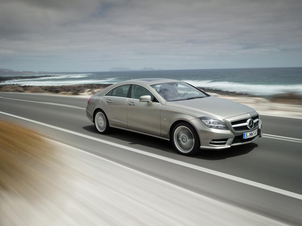 Test Mercedes-Benz CLS 350 CGI BlueEFFICIENCY: Der mit dem CLS spricht