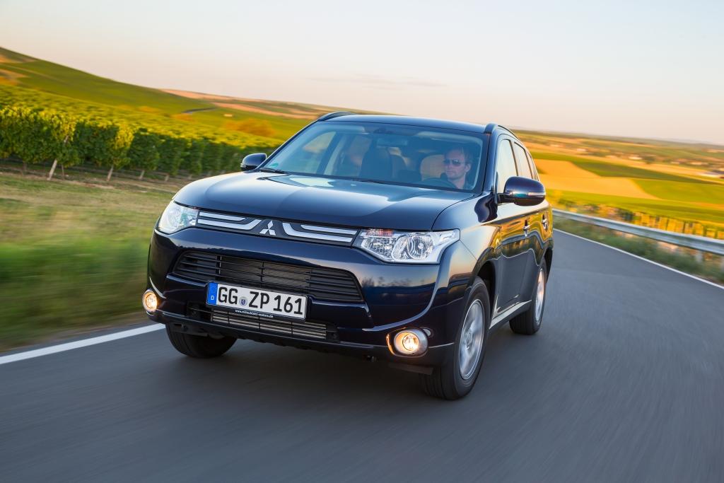 Test Mitsubishi Outlander - Nicht von dieser Welt