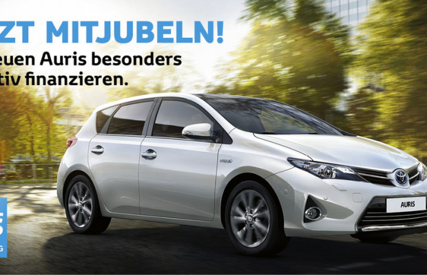 Toyota bietet Jubiläumsfinanzierung für den Auris