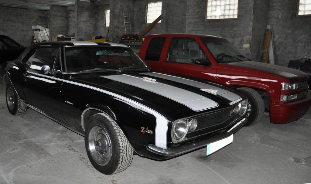 Traumautos im Winterschlaf - Träumen US-Cars von V8-angetriebenen Schafen?